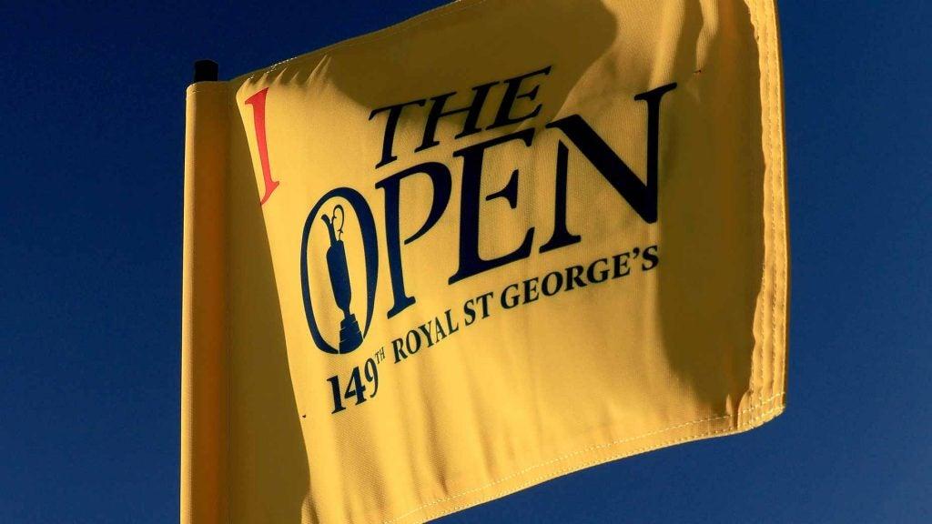 2021 Open Championship flag