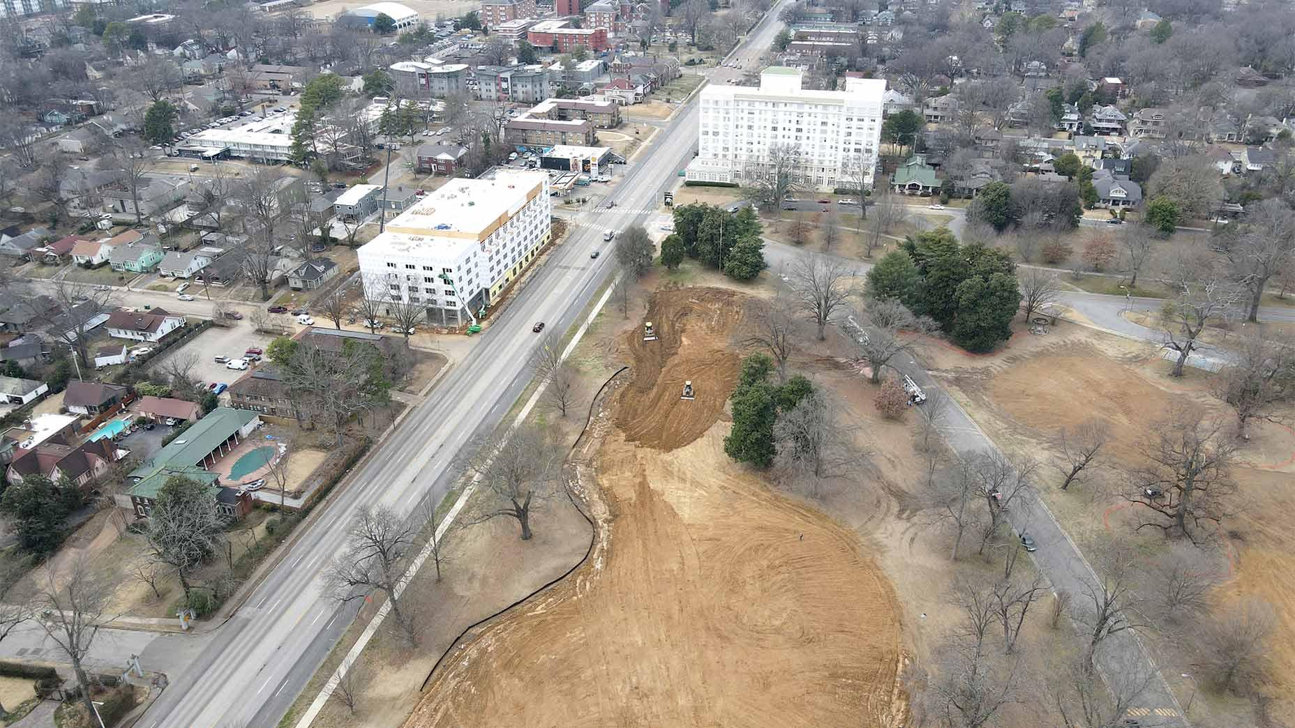 Overton Park in Memphis, Tenn.