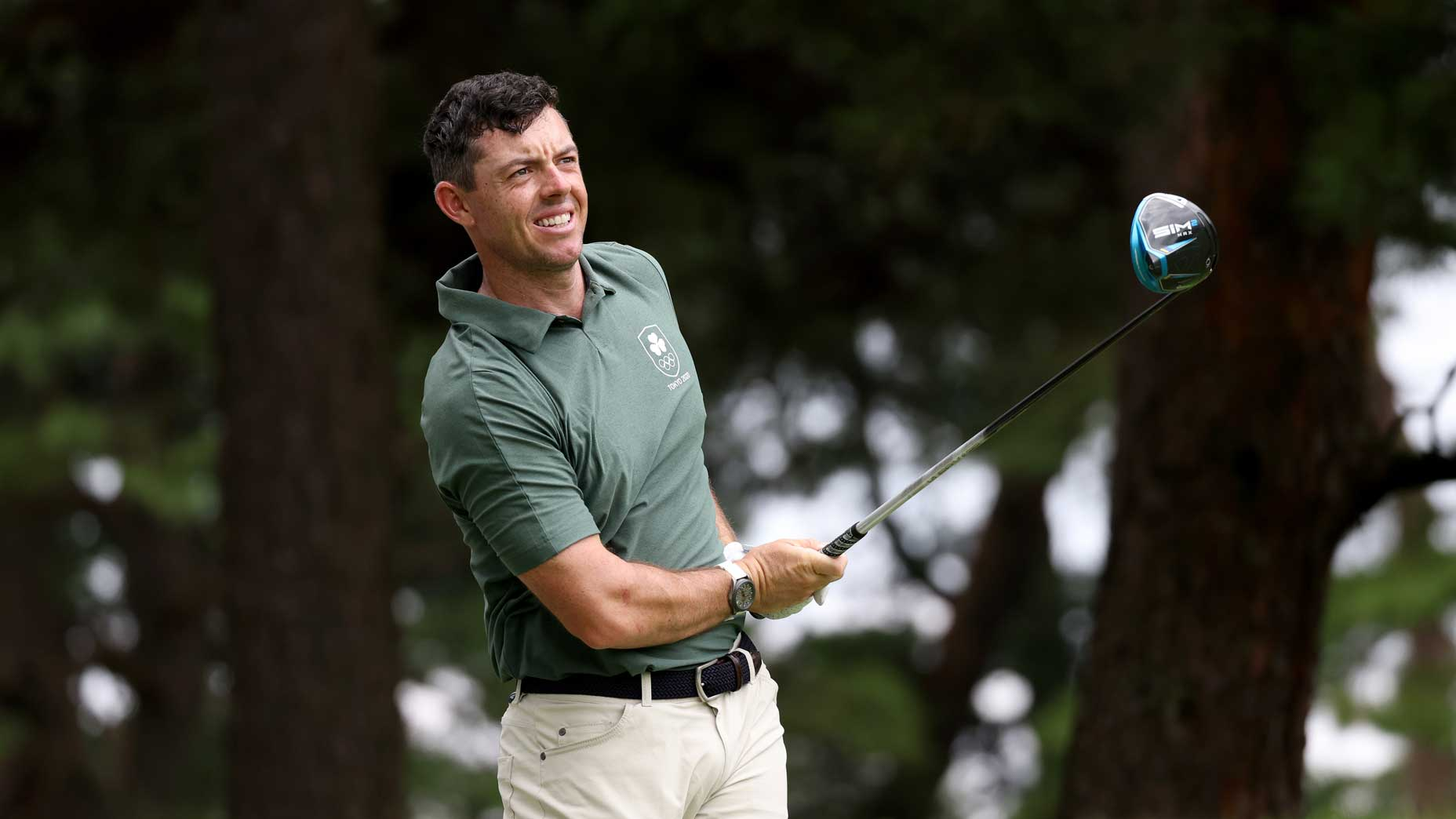 Rory McIlroy at Olympics in Tokyo