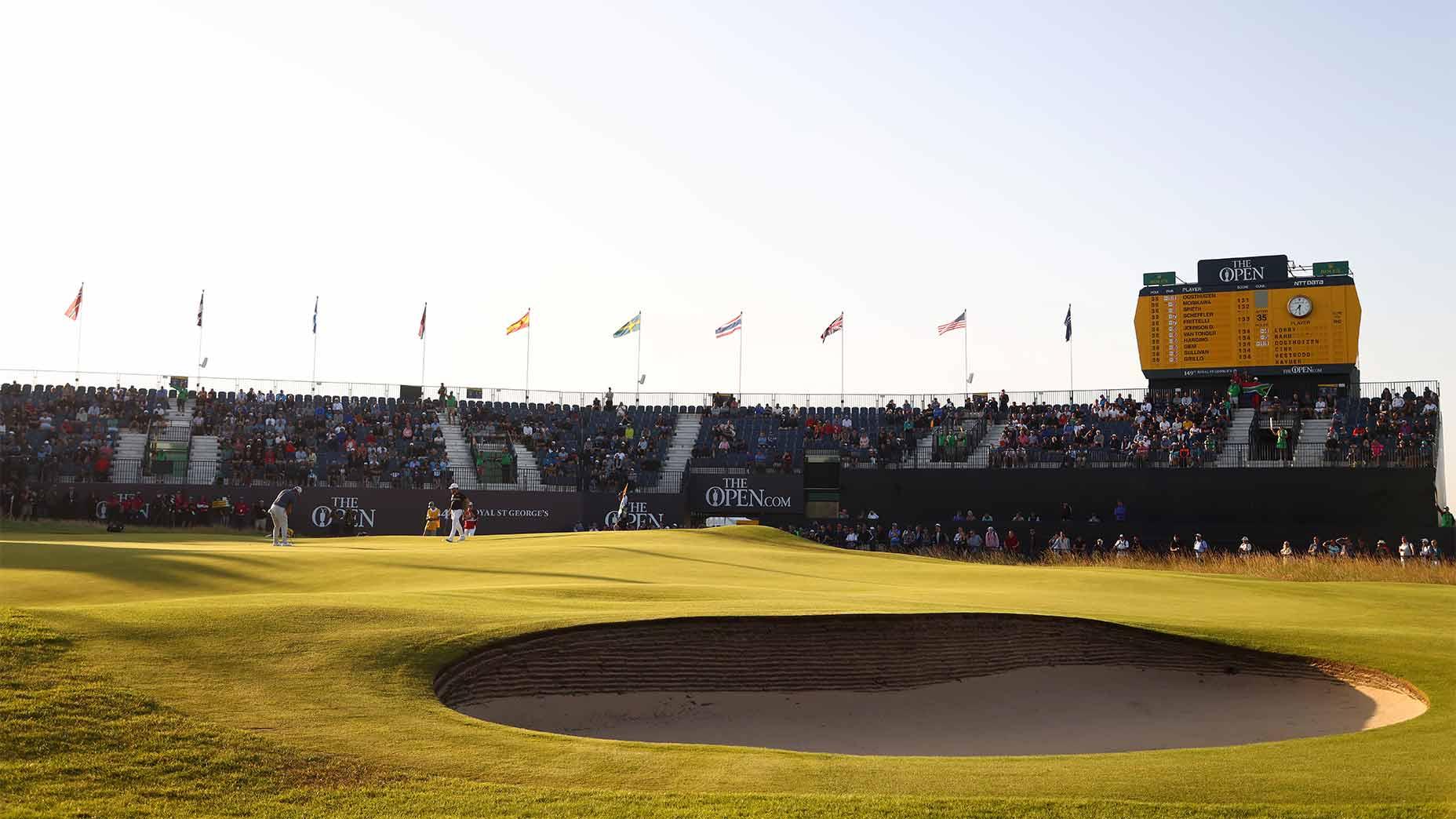 Royal st george's 18th hole