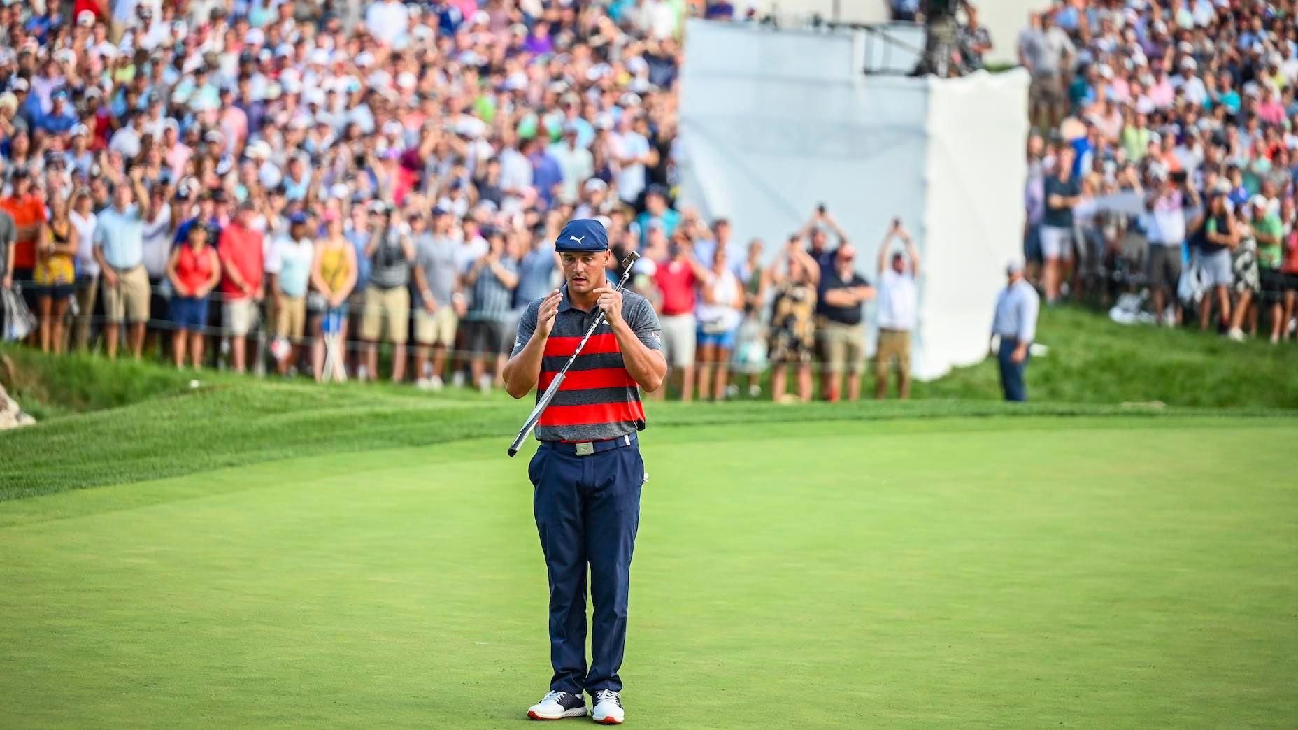 Les chahuteurs de Bryson DeChambeau ne seront pas tolérés, selon le commissaire du PGA Tour Jay Monahan.