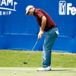 Russell Henley at 2021 Wyndham Championship