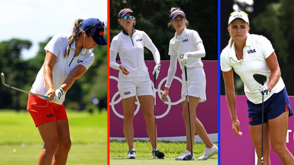 Four female golfers are representing Team USA at the Olympics, and they're among the favorites to medal in Tokyo.