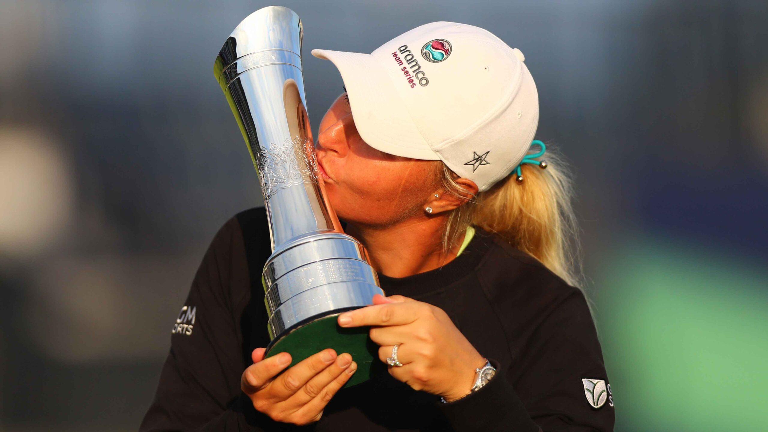 Anna Nordqvist at the Ladies Open