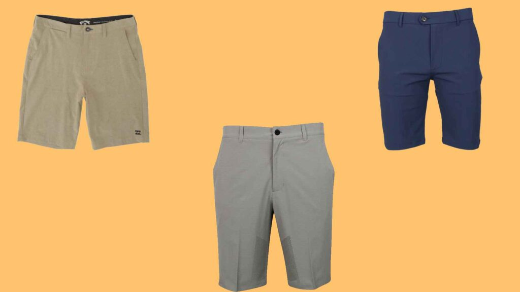 golf shorts heat