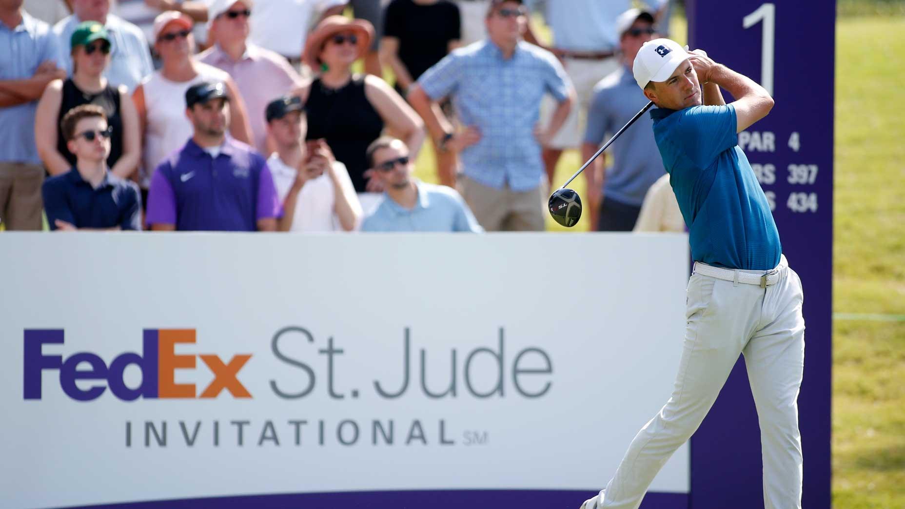 Jordan Spieth at WGC-FedEx St. Jude Invitational