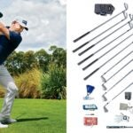 Lee Westwood and his golf gear