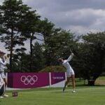 Nelly Korda at Olympics