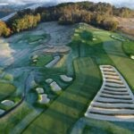 An aerial view of Oakmont.