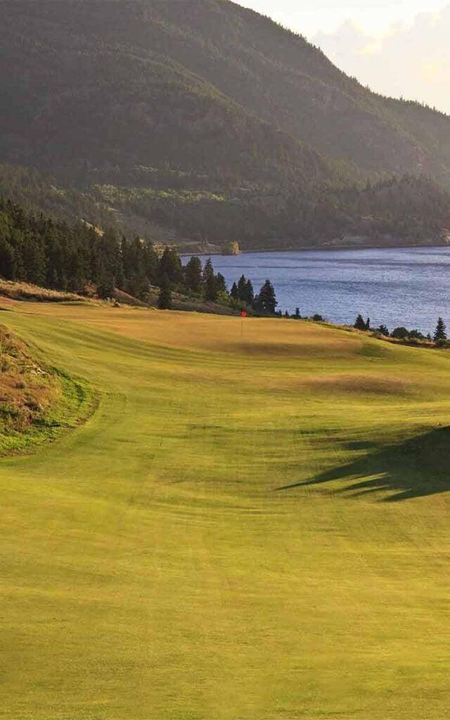 A view of Sagebrush Golf Club in Canada.