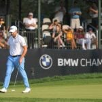 patrick cantlay swings putter