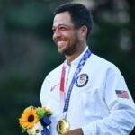xander schauffele gold medal