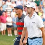 Patrick Cantlay outdueled Bryson DeChambeau at the BMW Championship.