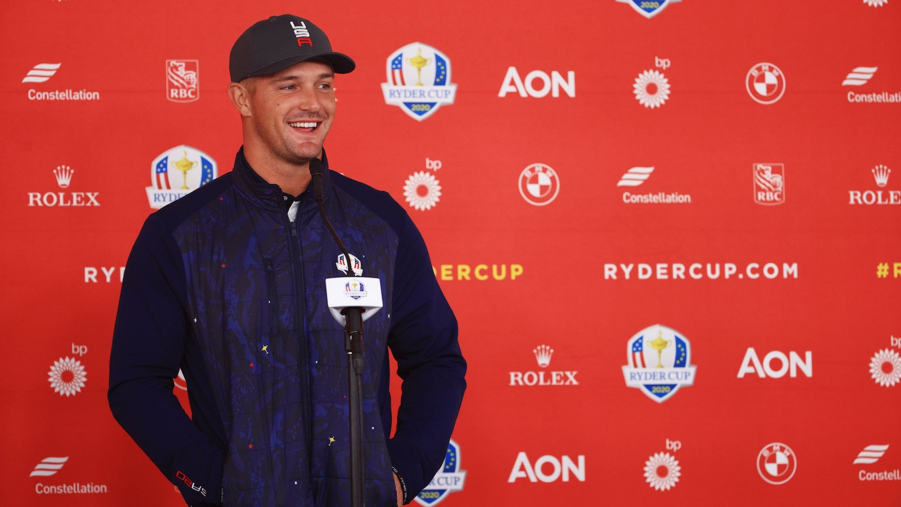 Bryson DeChambeau spoke with reporters for the first time in two months, discussing Brooks Koepka, fan behavior and Ryder Cup expectations.