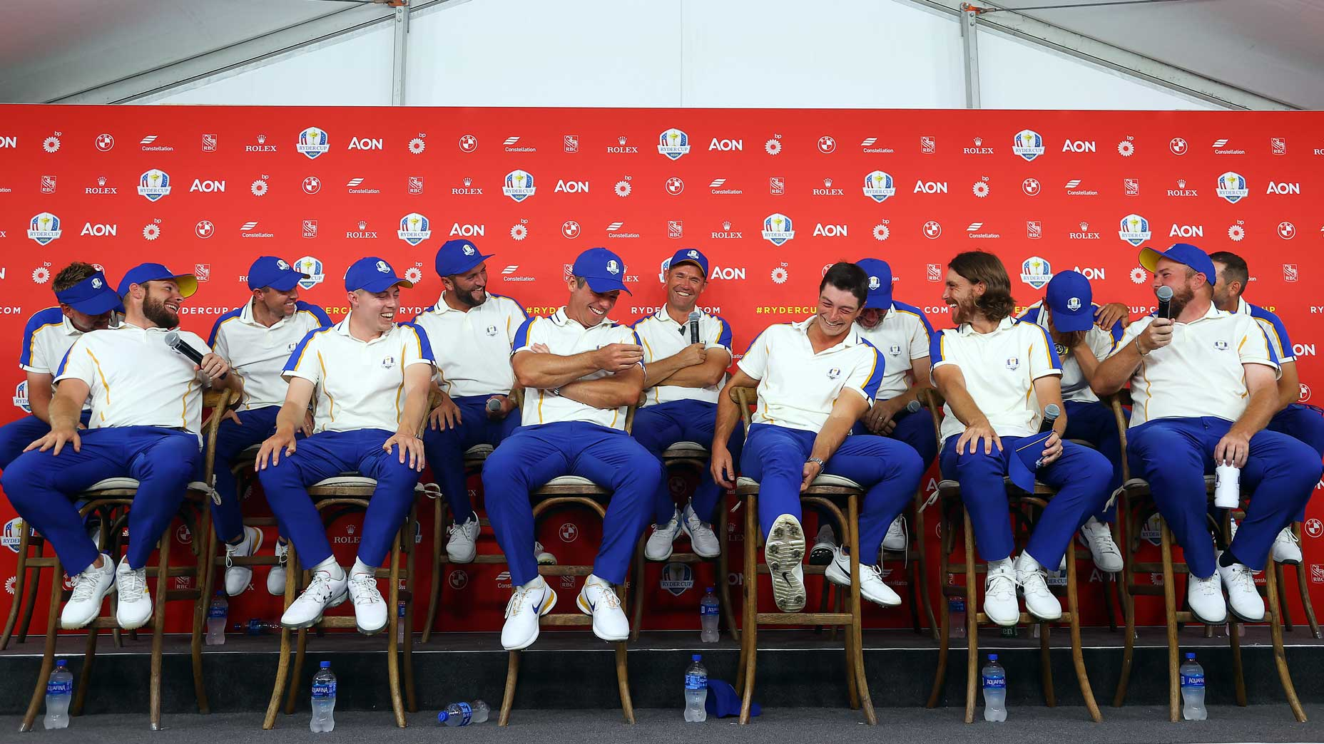 How an emotional European team watched the Ryder Cup slip ...