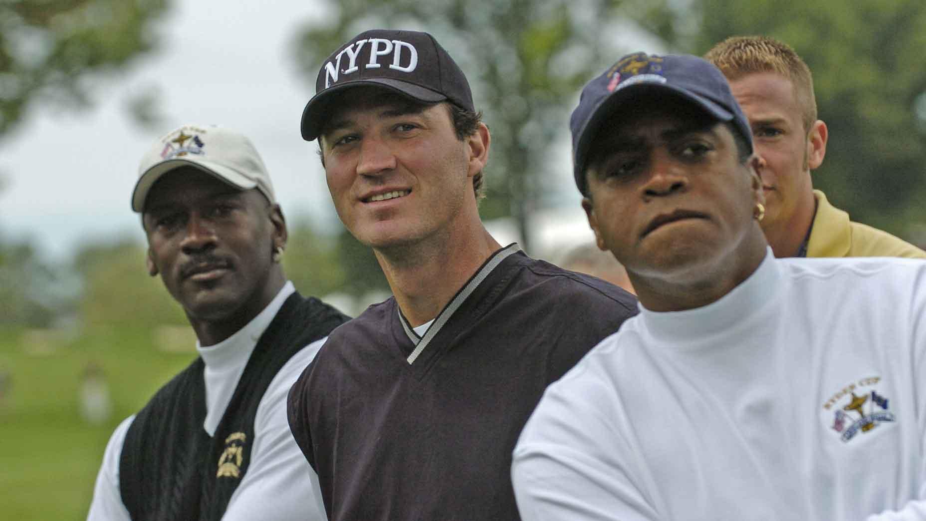Michael Jordan, Mario Lemieux, Ahmad Rashad