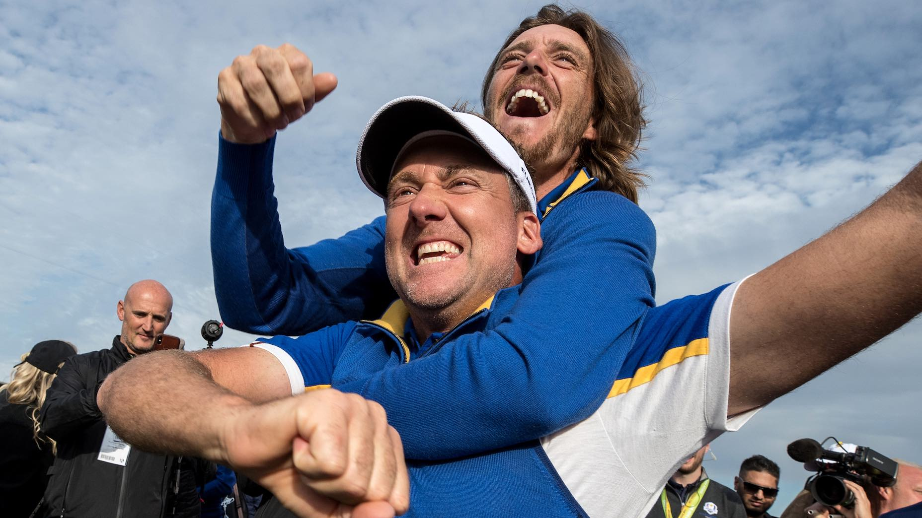 Ian Poulter is a Ryder Cup legend, boasting a lifetime record of 14-6-2.