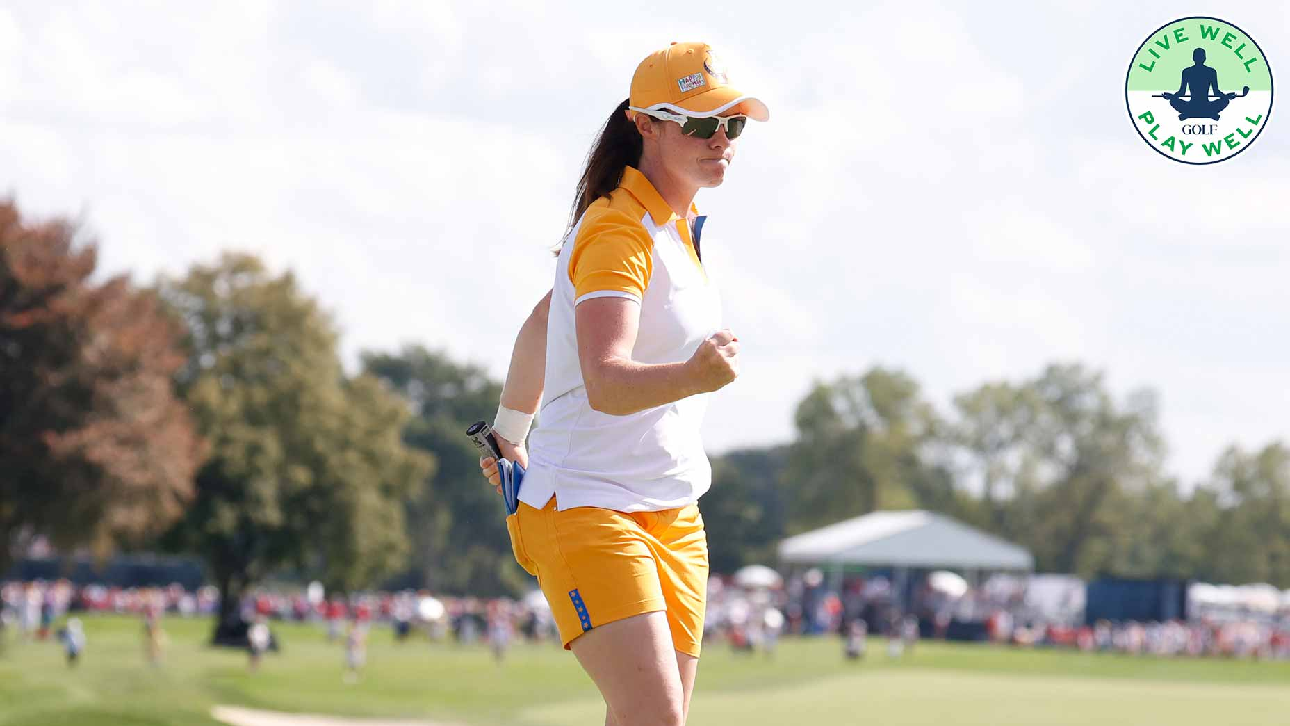 Leona Maguire's Solheim Cup performance was fueled by her commitment to her fitness routine.
