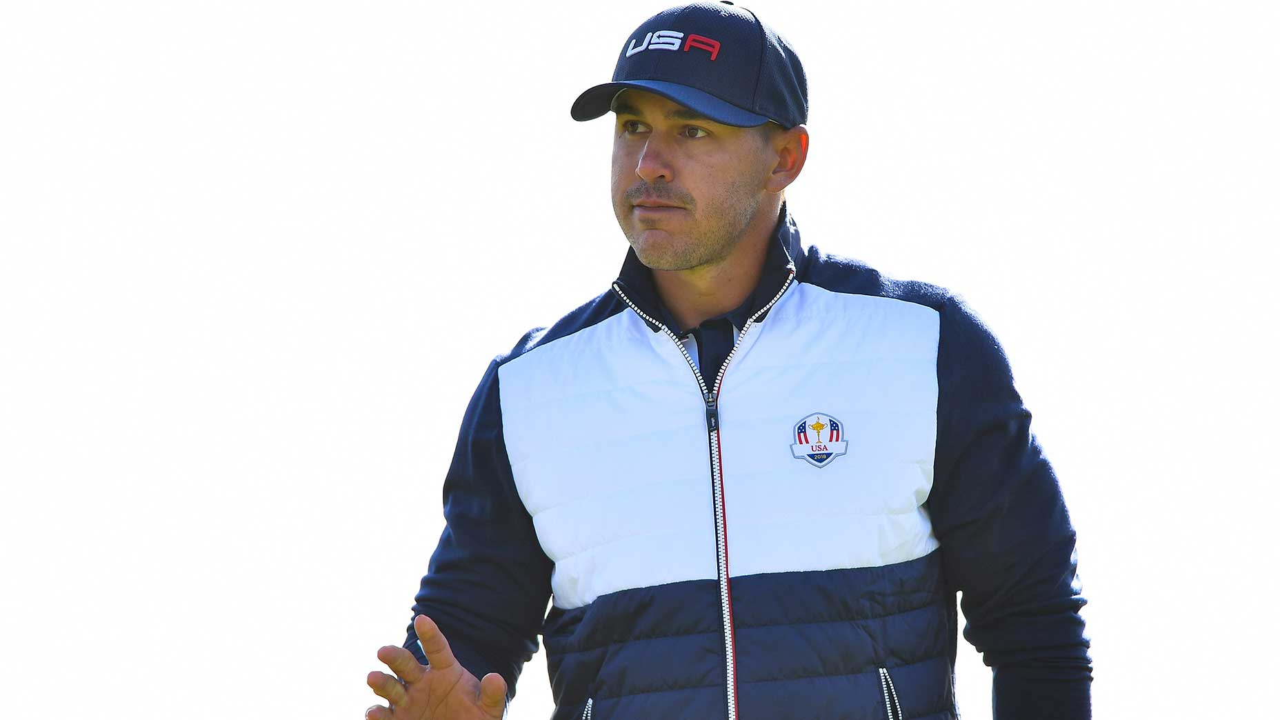 Brooks Koepka at the 2018 Ryder Cup.