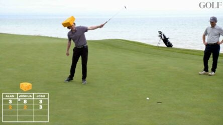 cheesehead challenge at whistling straits
