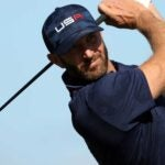 Dustin Johnson at 2021 Ryder Cup
