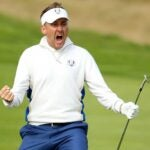 ian poulter cheers