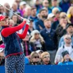 Jessica Korda at the 2019 Solheim Cup.