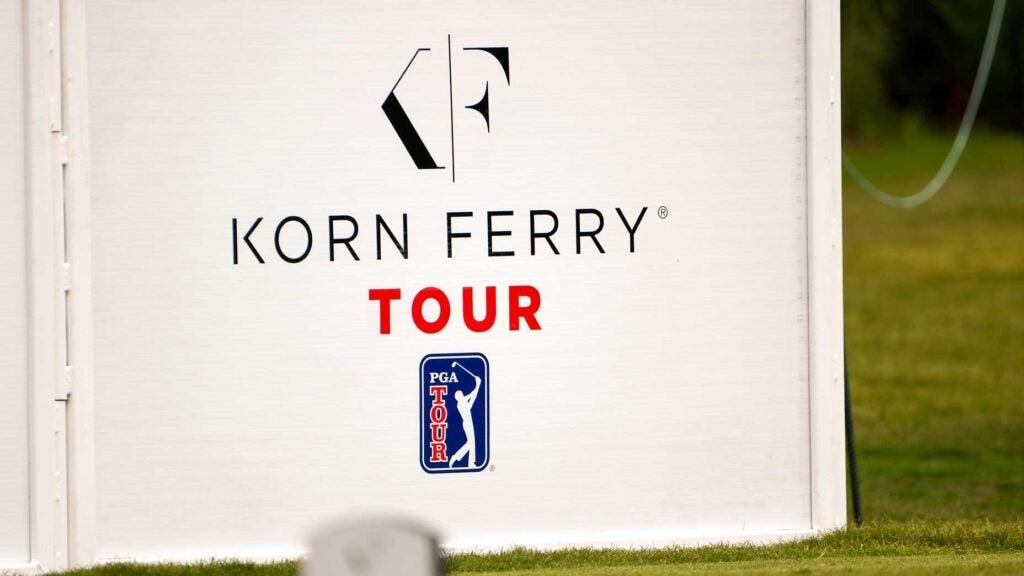 korn ferry tour sign