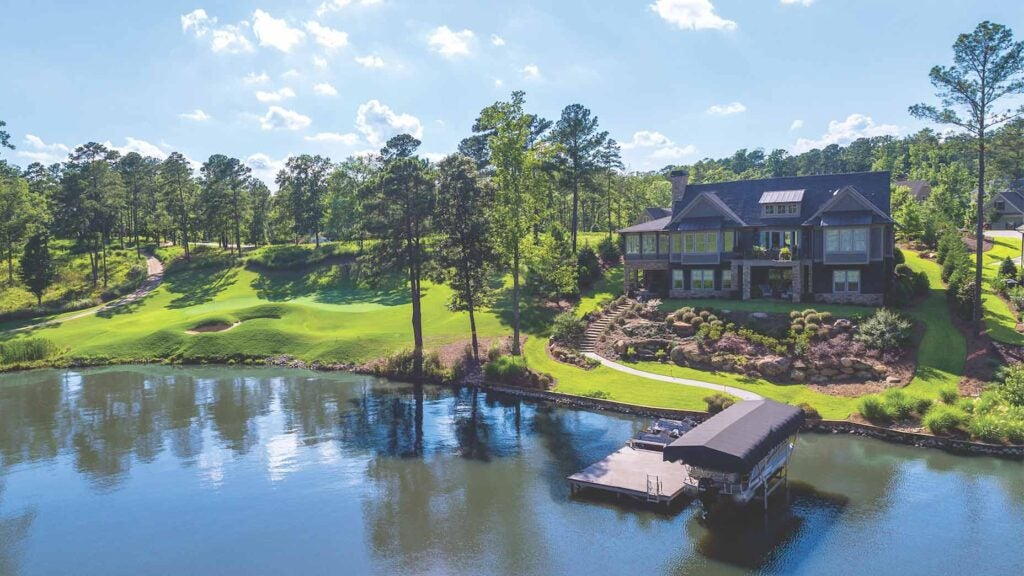 The Reynolds Lake Oconee golf community boasts six courses—and spiking sales in 2020.