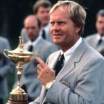 nicklaus with ryder cup trophy