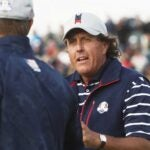Phil Mickelson at 2018 Ryder Cup