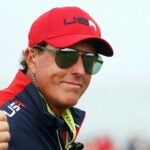 phil mickelson at the 2021 ryder cup