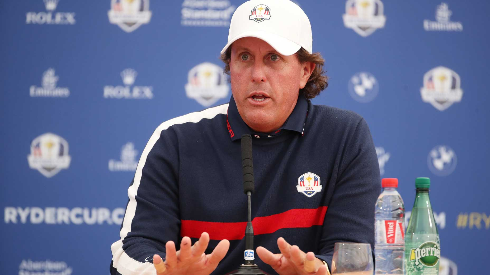 Phil Mickelson at Ryder Cup