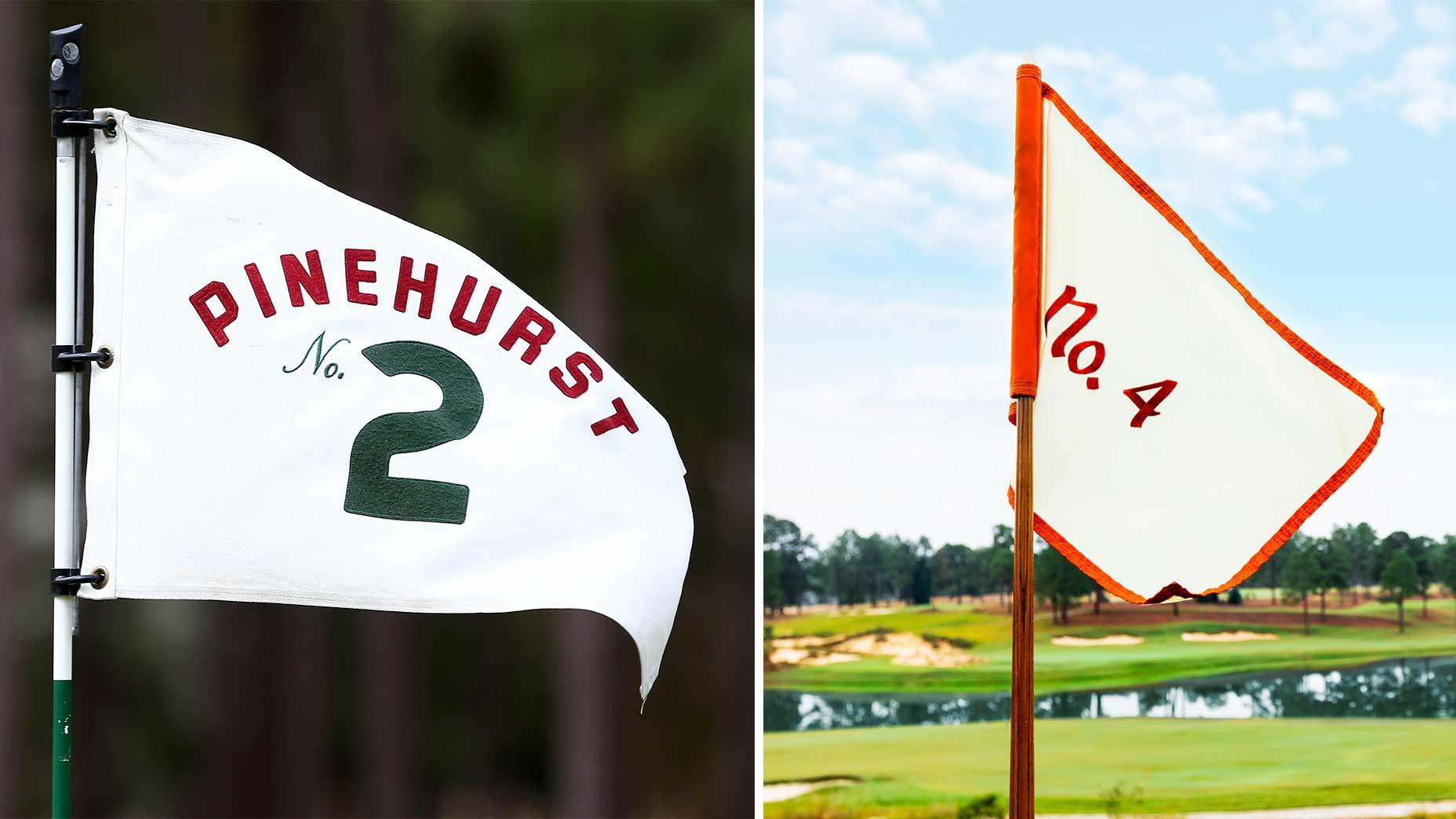 pinehurst no. 2 no. 4 flag