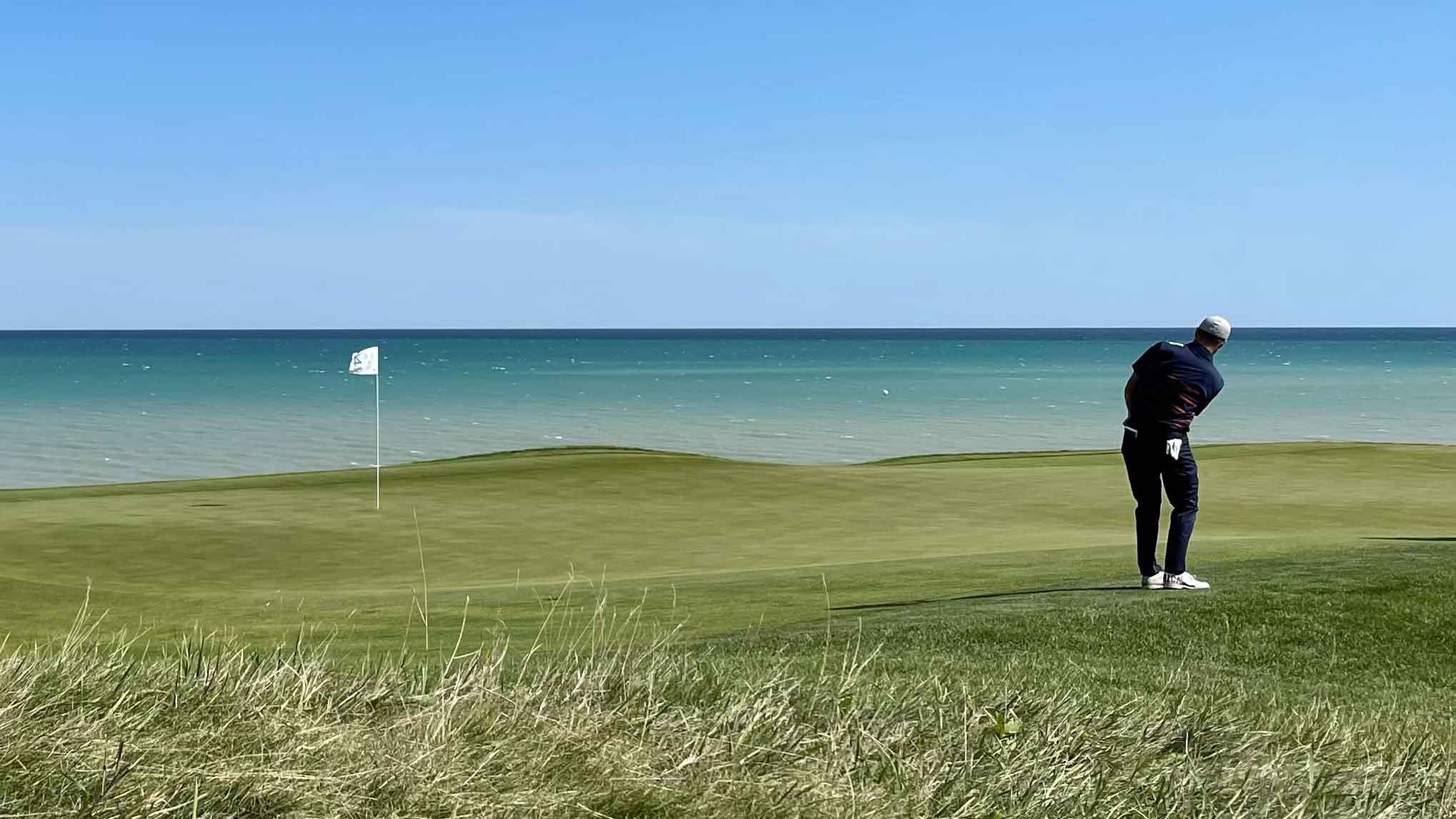 Whistling Straits during 2021 Ryder Cup