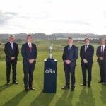 Open Championship officials at Royal Portrush