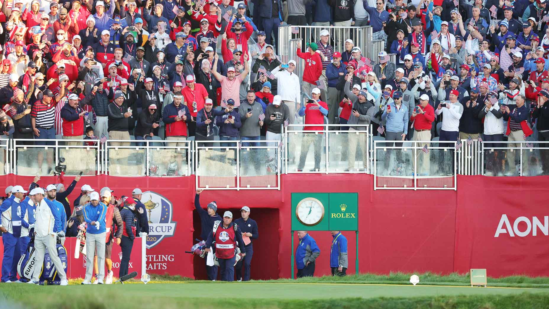 2021 Ryder Cup 1st tee