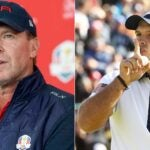 Steve Stricker (left) didn't pick Patrick Reed for the 2021 Ryder Cup team.