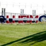 2021 Solheim Cup sign