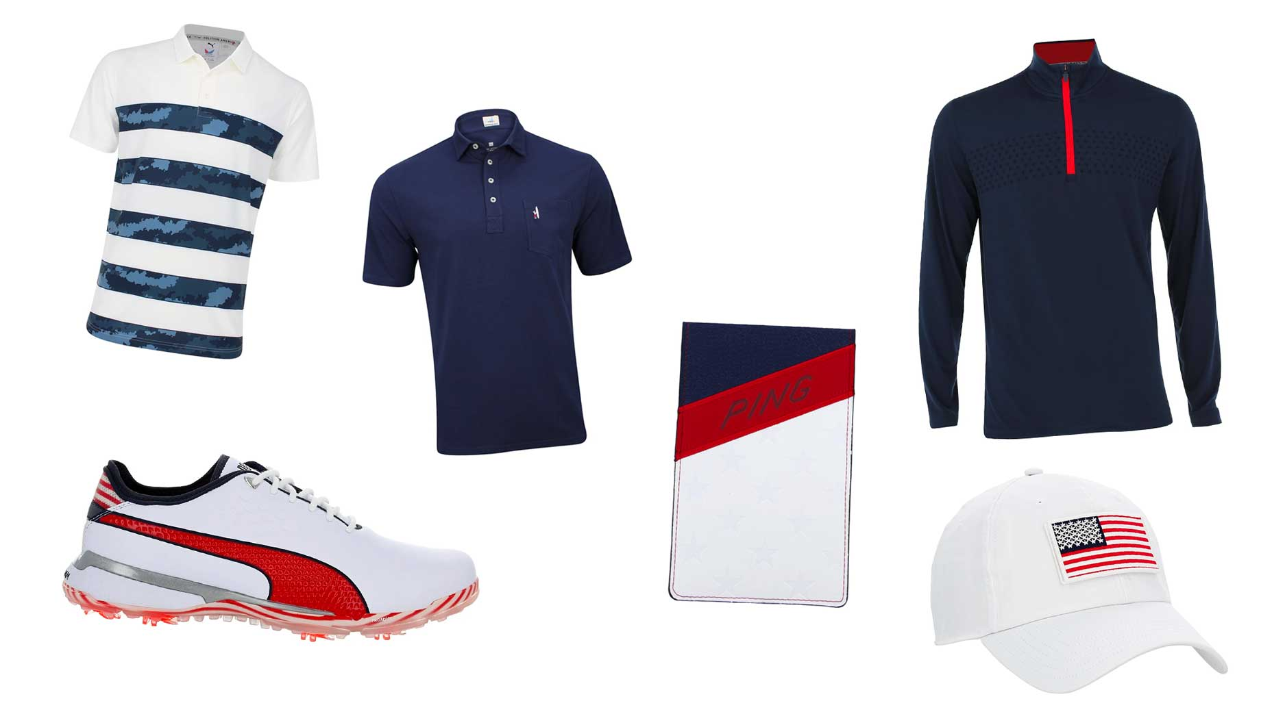 USA golf gear