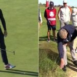 The ryder cup got testy on saturday