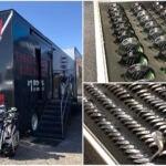 Callaway tour equipment truck inventory.