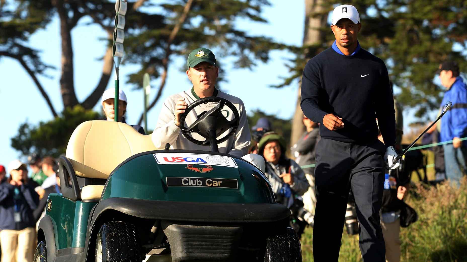 Casey Martin, Tiger Woods