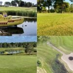 A collection of photos from Montgomery National, which has a Beatles-themed golf course.