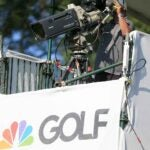 golf channel camera shoots video
