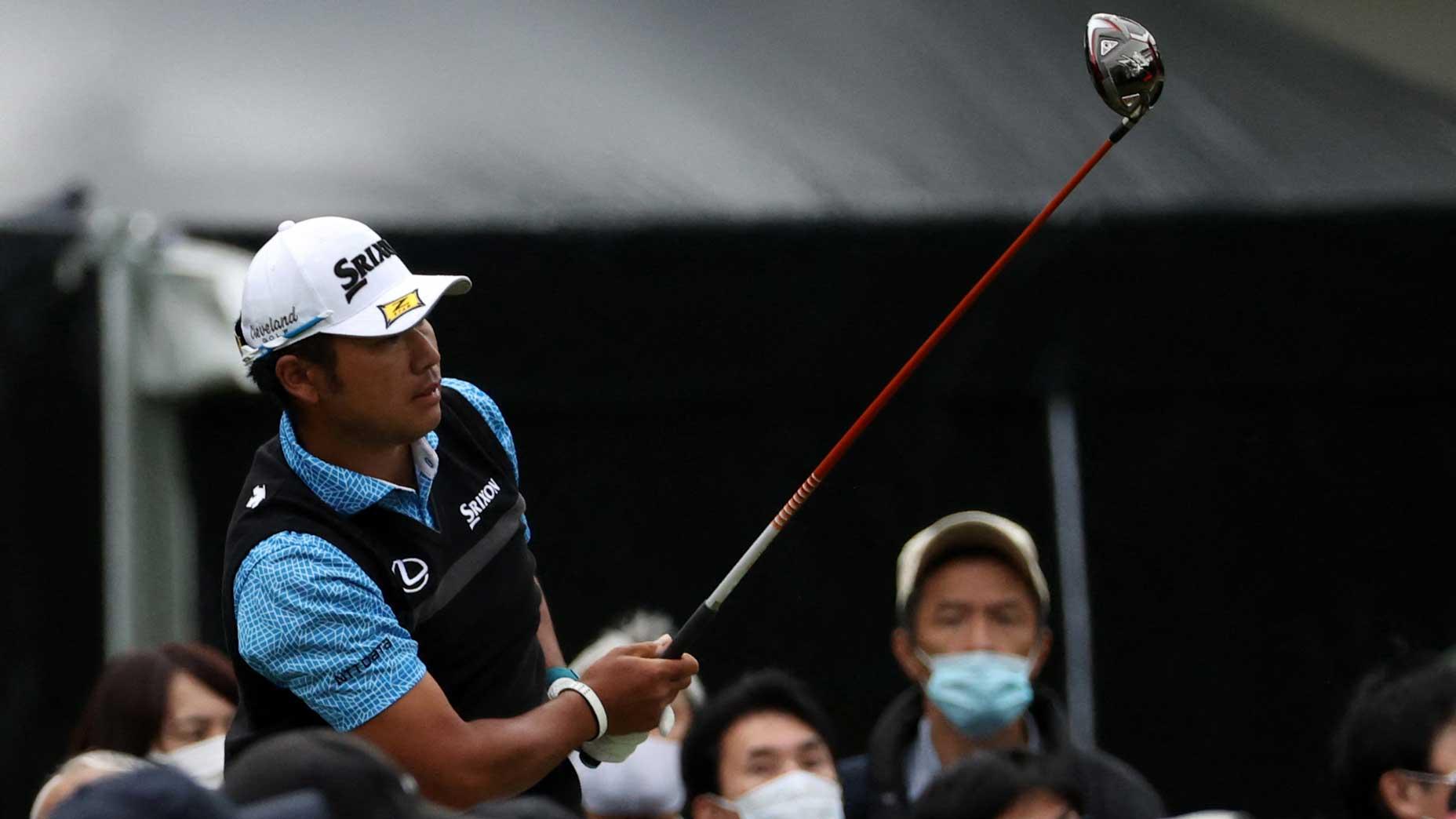 Hideki Matsuyama tees off amid large crowds in Round 1 at the 2021 Zozo Championship