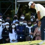 hideki matsuyama golf shoes zozo