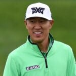 James Hahn looks on at the Waste Management Phoenix Open.