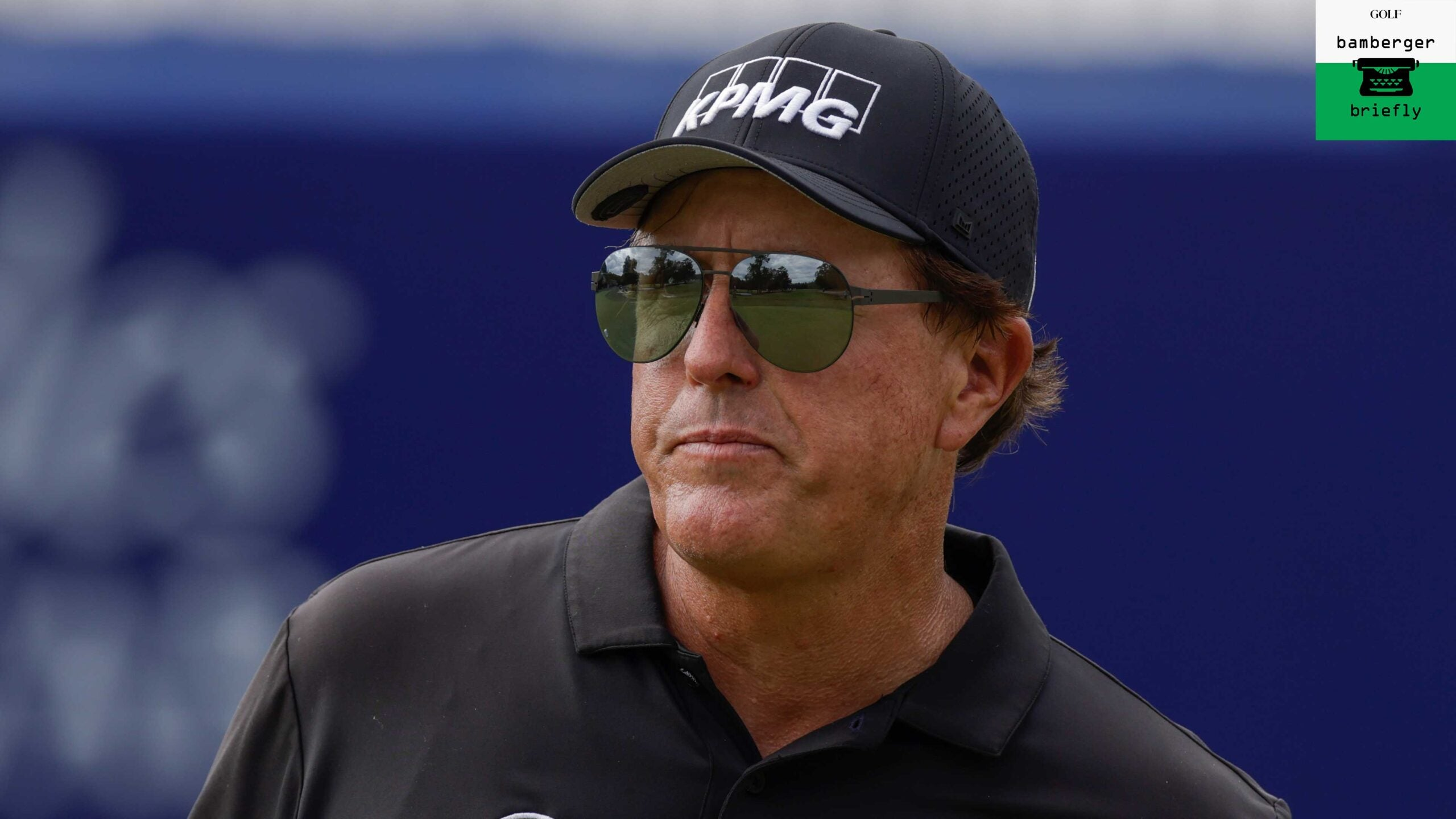 Phil Mickelson of the United States during the first round of the PGA TOUR Champions Constellation FURYK & FRIENDS
