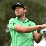 PGA Tour pro Sam Burns hits tee shot during Round 2 of 2021 Shriners Children's Open